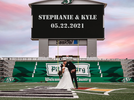 Stephanie & Kyle - Married!