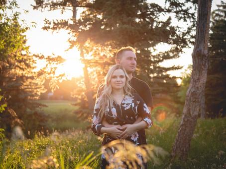 Engaged! Christina & Devon