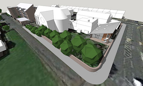 Bostey, Walker, 8-16 years, new building, St Anthony's, Church Street, East End of Newcastle