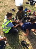 Bostey, Walker, roller disco, skate marshal, help, volunteer project
