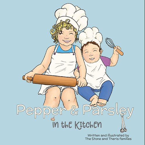 Pepper and Parsley In the Kitchen Book
