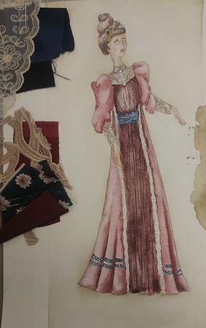 Hedda Gabbler (tea dress)