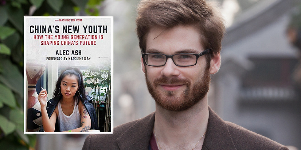 WildChina Book Club: China's New Youth With Alec Ash