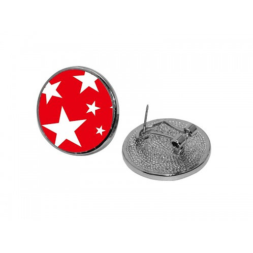 Sublimation Round Ear Studs