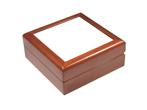 "Hardboard Keepsake Brown 6""X6"""