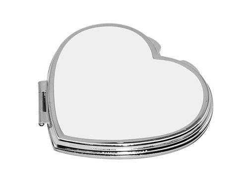 Compact Mirror Heart