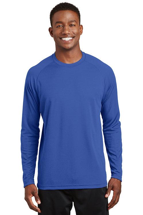 T473LS Sport-Tek® Dry Zone® Long Sleeve Raglan T-Shirt