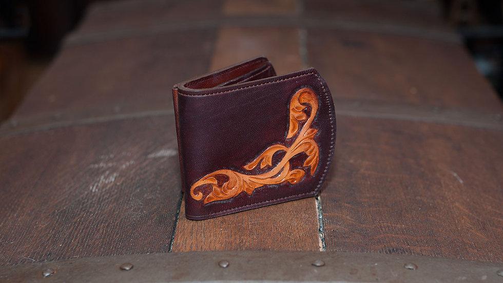 Peněženka páská - zdobená řezem