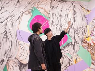 名古屋 JPタワー壁画