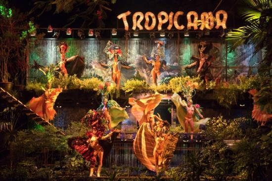 Show Nocturno Tropicana Cabaret. Habana