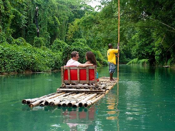 Rafting Martha Brae. Desde Negril