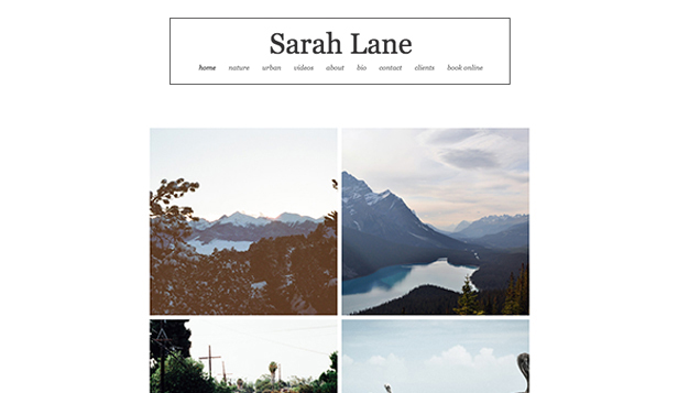 Travel & Documentary website templates – Outdoor Photography