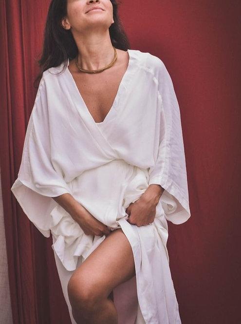 Kimono Lenna Branco