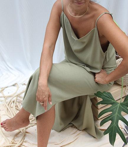 Vestido Madalena Abacate