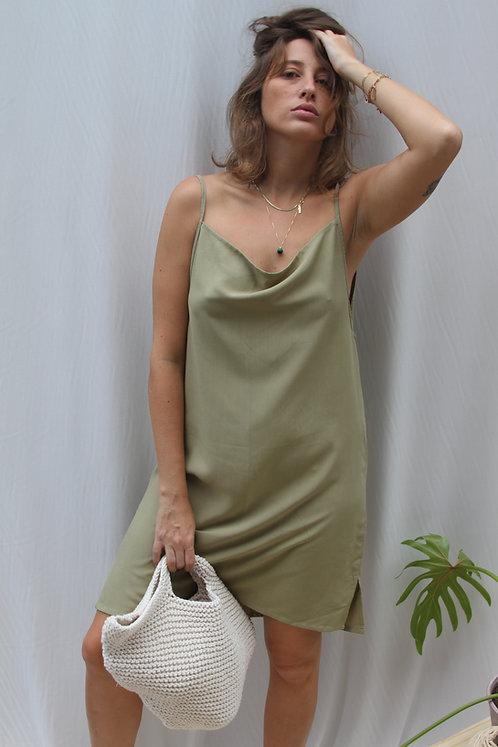 Vestido Carmen Abacate