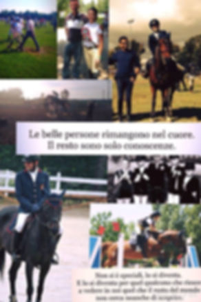dedica di Francesca Maria Per il suo istruttore Gaetano