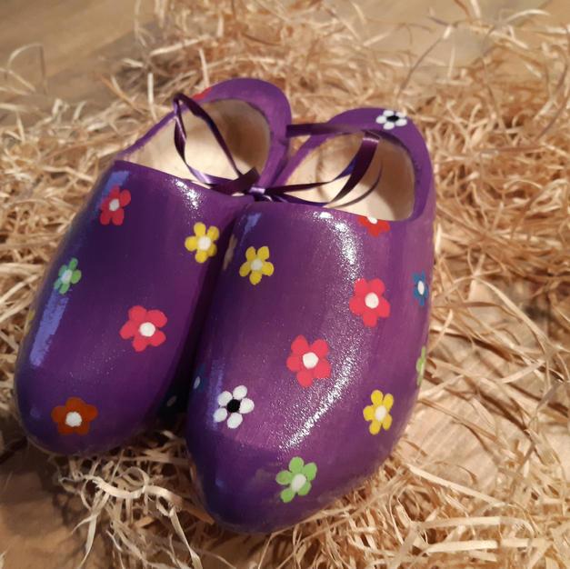Bloemetjes paars