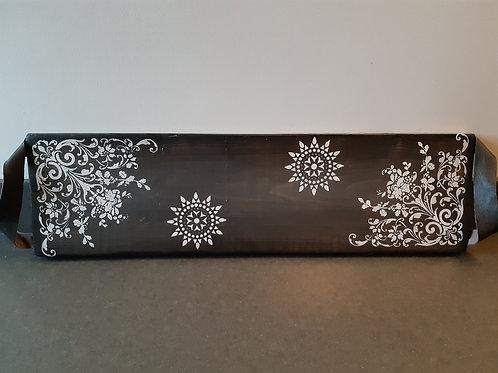 Witte ornamenten