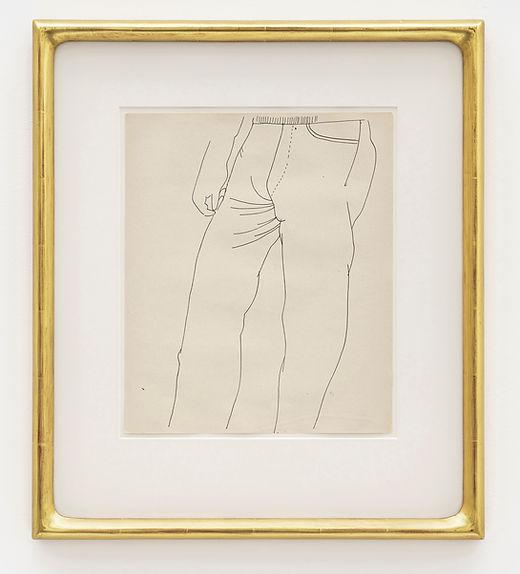 Andy Warhol - Untitled Torso, 1956/57