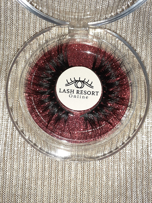 Dream Mink Eyelash Extension Collection - Red