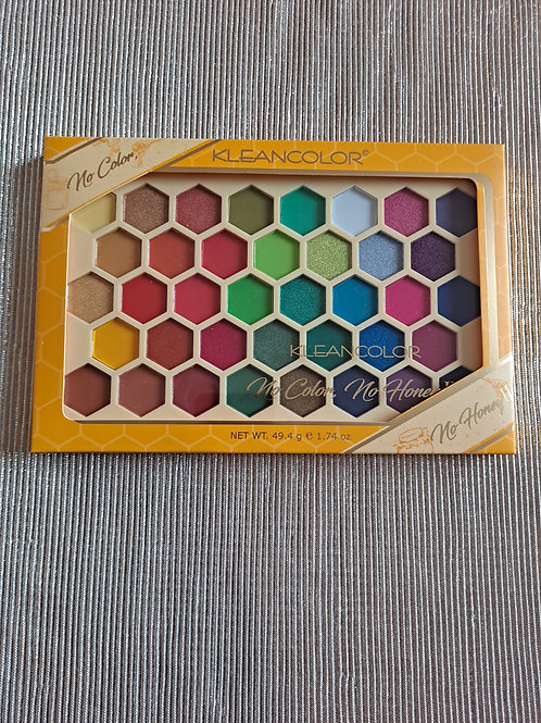 KLEANCOLOR 38 color Pressed Pigment Palette