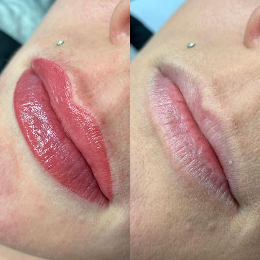 Lip tattooing Wellington