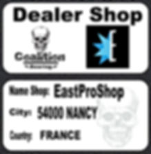 Roulement à billes de skate Coalition Bearing Dealer shop Eas Pro Shop
