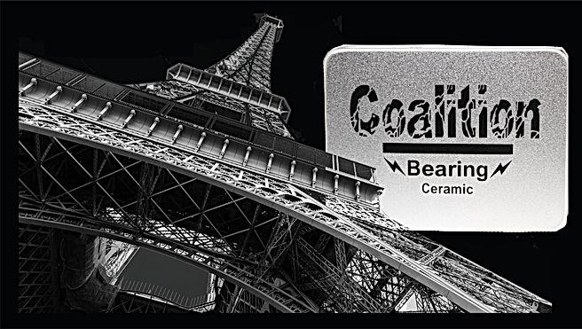 Bearing Coaltion Ceramic Gold Titanium