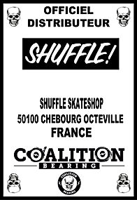 Coalition Bearing Distritution officiel SHUFFLE