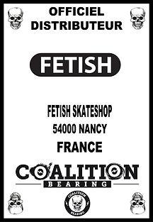 Coalition Bearing Distritution officiel fetish skateshop