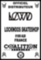 COALITION BEARING Distritution officiel LOCKWOOD SKATESHOP