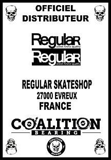 Coalition Bearing Distritution officiel regular skateshop
