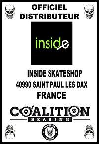 Coalition Bearing Distritution officiel INSIDE SKATESHOP