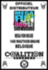 COALITION BEARING Distritution officiel MEGA FUN HOU
