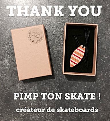SUPPORT COALITION BEARING Pimp Ton Skate