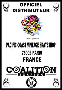 COALITION BEARING Distritution officiel PACIFIC COAST