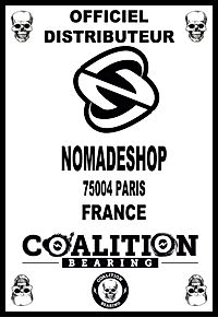 COALITION BEARING  Distritution officiel NOMADESHOP.