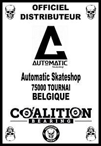 Coalition Bearing Distritution officiel AUTOMATIC SKATESHOP BELGIQUE