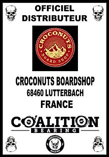 Coalition Bearing Distritution officiel  CROCONUTS SKATESHOP