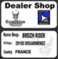 Roulement à billes skate  Coalition Bearing Breizh rider dealer COALITION BEARING