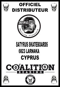 COALITION BEARING Distritution officiel SATYRUS CYPRUS