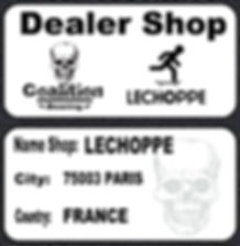 Coalition bearing dealer shop LECHOPPE 75003 paris