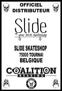 Coalition Bearing Distritution officiel SLIDE SKATESHOP BELGIQUE