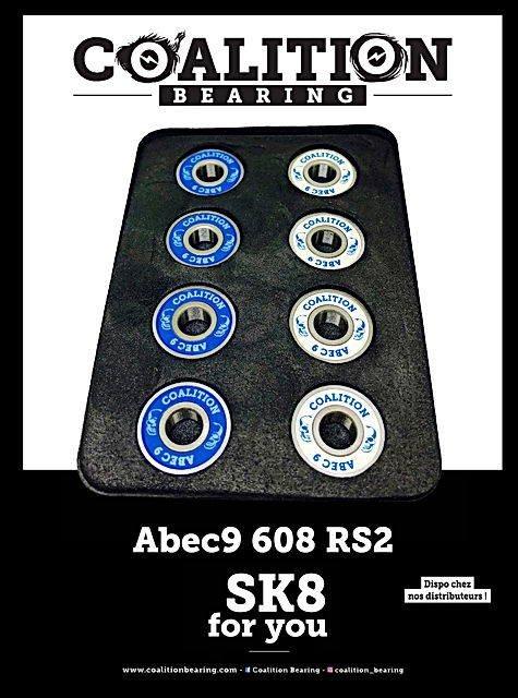 COALITION BEARING  abec9 608rs2