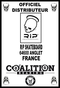 Coalition Bearing Distritution officiel RIP SKATESHOP