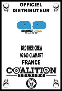 COALITION BEARING Distritution officiel BROTHER CREW