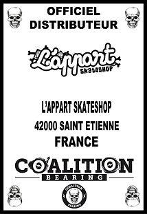 Coalition Bearing Distritution officiellappart skateshop