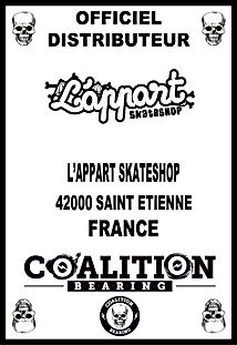 Coalition Bearing Distritution officiellappart skateshop