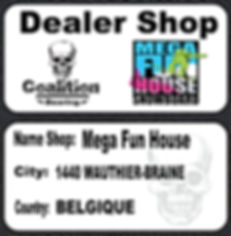 Dealer Shop CoaliMEGA FUN HOUSE  i Bearing
