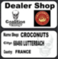 Roulement à billes skate  Coalition Bearing CROCONUTS SKATESHOP LUTTERBACH COALITION BEARING